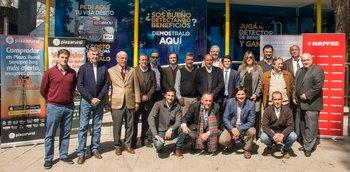 El lanzamiento del Seguro Plaza Rural se realizó en el stand del Banco de la República en la Expo Prado.