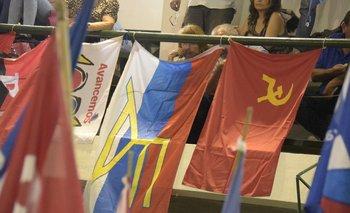 Socialistas y comunistas se habían unido en Montevideo para impulsar la candidatura de Carolina Cosse a la IMM