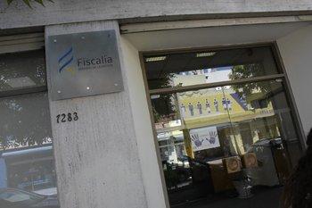 Entrada de la sede central de la Fiscalía General de la Nación
