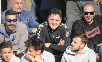 Cristian Rodríguez vio el partido ante Juventud desde las tribunas del Estadio Artigas