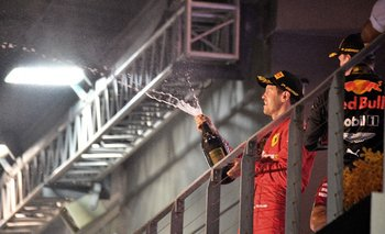 Sebastian Vettel ganó en Singapur
