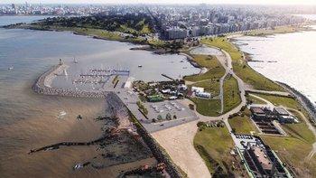 Así quedará la zona del faro de Punta Carretas una vez terminadas las obras, en 2021