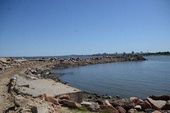 Vista del puerto de Punta Carretas