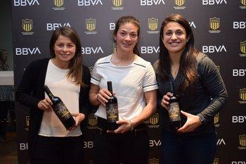 Stefany Suarez, Lorena Graña y Ximena Velazco