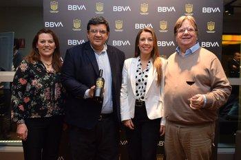 Gabriela Rieiro, Jorge Barrera, Ximena Del y Martin Guerra