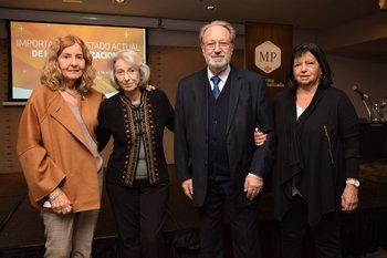 Socorro Reyes, Solveig Bentancourt, José Enrique Pons y Mariana Varela