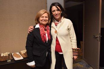 Elena Ward y Mónica Rodríguez