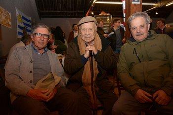 Rodolfo Dolz, Abayuba Valdez y José Luis Vila