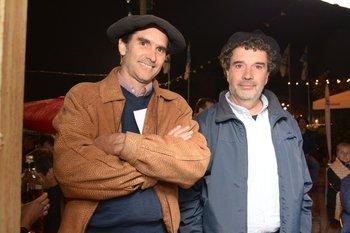 Hugo Nuñez y Horacio González