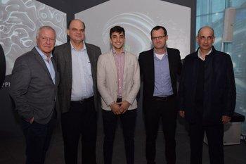 Gustavo Delgado, Andrés Tolosa, Santiago urrutia, Guillermo Moncecchi y Daniel Fuentes