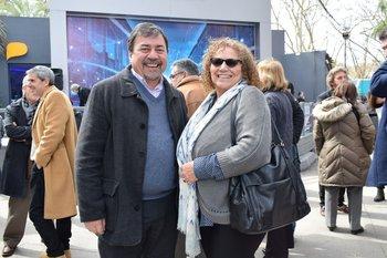 Luis Muniz y Mirian Olmedo
