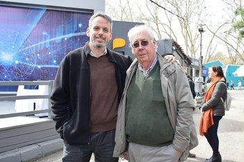 Ricardo Bagnasco y Carlos Bouvier