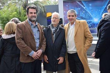 Federico Solaro, Luis Becerra y Julio Díaz