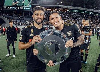 Rossi y Brian Rodríguez