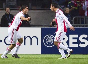En tres temporadas y media en Ajax, anotó 111 goles