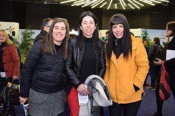 Estefania Loffreda, Ximena Acosta y Eliana Alpuy