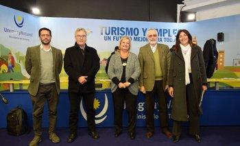 Cristian Pos, Carlos Fagetti, Liliam Kechichián, Benjamin Liberoff y Hiara Rodríguez