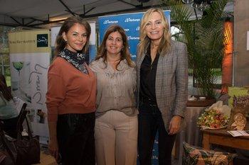 Andrea Menache, Andrea Babuglia y Adriana Forlan