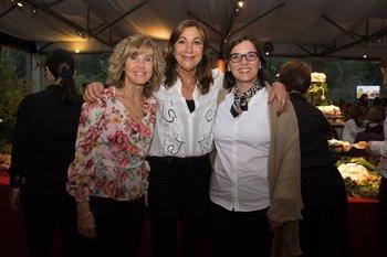 Mariangela Di Leo, Mercedes Abella y Paula Ferreiro
