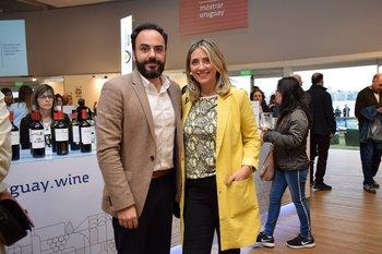 Martin López y Fabiana Bracco