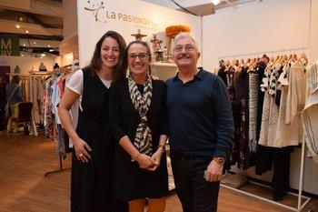 Paulina Gross, Rossana Demarco y Hernesto Delletiane
