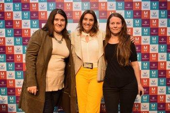 Mariana Montaldo, María Gomenssoro y Soledad Felix