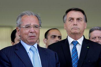 El ministro de Hacienda, Paulo Guedes, es una figura clave en el gobierno de Bolsonaro.
