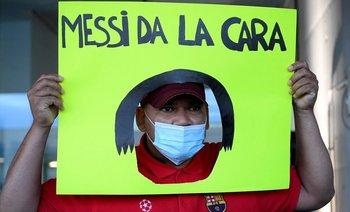 La llegada del padre de Messi a Barcelona