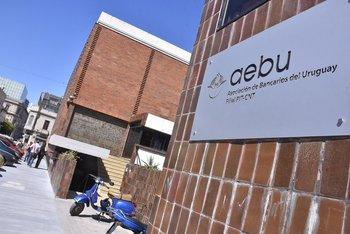 Sede central de AEBU en Ciudad Vieja.