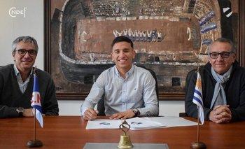 Cartagena cuando firmó contrato con Nacional