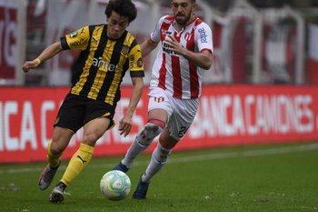 Facundo Pellistri y Santiago Brunelli