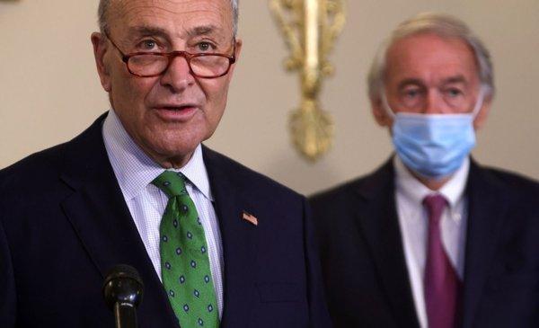 """Demócratas bloquean plan de ayuda por la pandemia """"por ser insuficiente"""""""