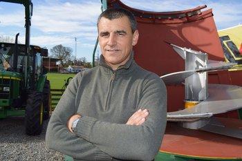 Gustavo Aberastegui, el nuevo presidente de Cufma, en la Rural del Prado.