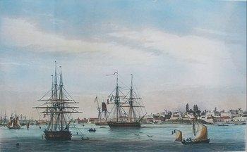 Vista de la ciudad,  Adolphe d