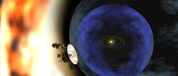 Las sondas Voyager fueron lanzadas en la década de los años 70.