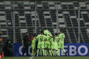 La celebración de Peñarol