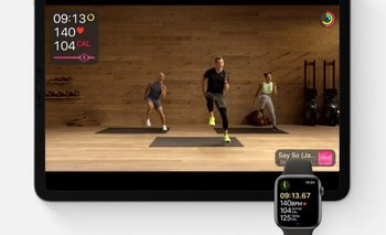 El servicio Fitness+ se puede ver en un iPhone, iPad o mediante un decodificador de Apple TV.