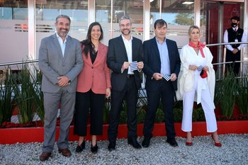 Gustavo Trelles, Ana Paula Aboal, Pablo Gaudio, Alejandro Sosa y Virginia Staricco