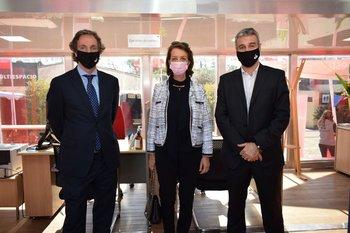 Nicolas Herrera, Cristina Rivero y Pablo Gaudio