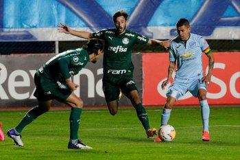 Viña contra Bolívar por Copa Libertadores