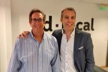Fundadores de dLocal: Sergio Fogel y Andrés Bzurovski