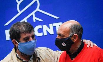 Fernando Pereira y Marcelo Abdala explicaron en una conferencia de prensa las actividades previstas para el Día de los Trabajadores.