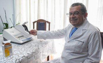 Edgardo Barbosa, médico de Uruguay