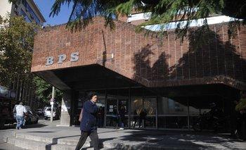 Los funcionarios del BPS retomaron la presencialidad este viernes. Foto archivo.