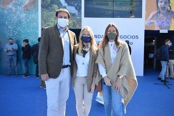 José Zerbino, María Noel Coates y Carina Zerbino