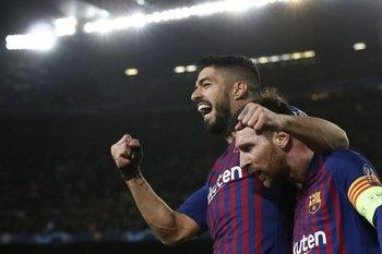 Messi-Suárez, una dupla que llenó de goles al Barcelona