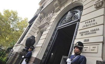 El Poder Judicial recibió la solicitud de la justicia argentina