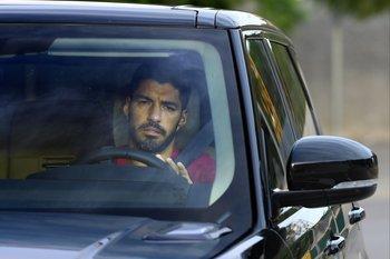 Suárez en sus últimos días en Barcelona