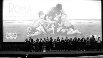 """""""Roma"""" se hizo con el Oscar a mejor película extranjera, entre otros."""
