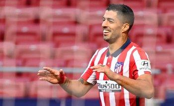 Luis Suárez en Atlético de Madrid